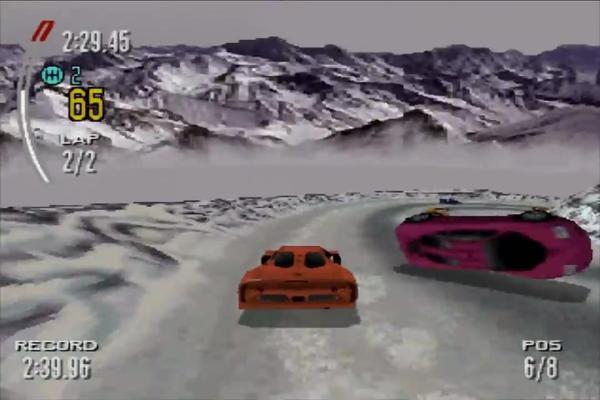 极品飞车2赛道说明