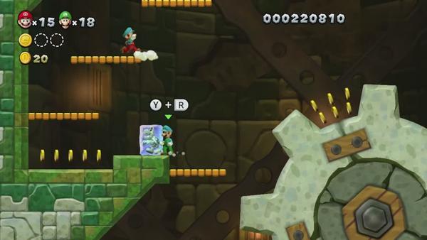 """任天堂推出""""Super Mario Bros. U"""" 全新玩法"""
