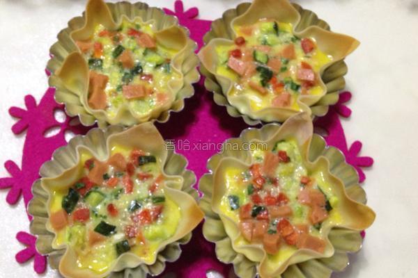 胡萝卜鸡蛋烩三菌的做法