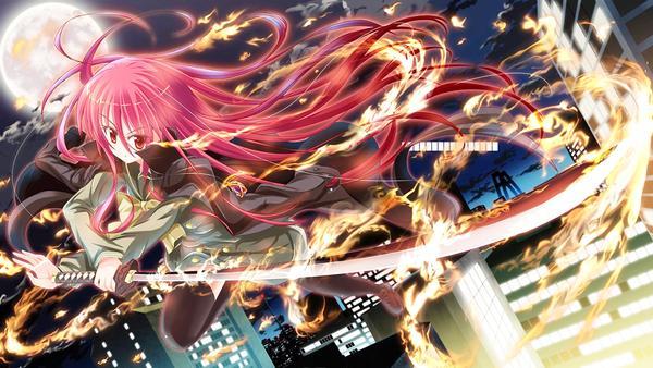 二次元入宅神作《灼眼的夏娜》正版手游  11月30日公测!