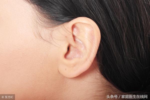 耳朵后面突然肿了一块