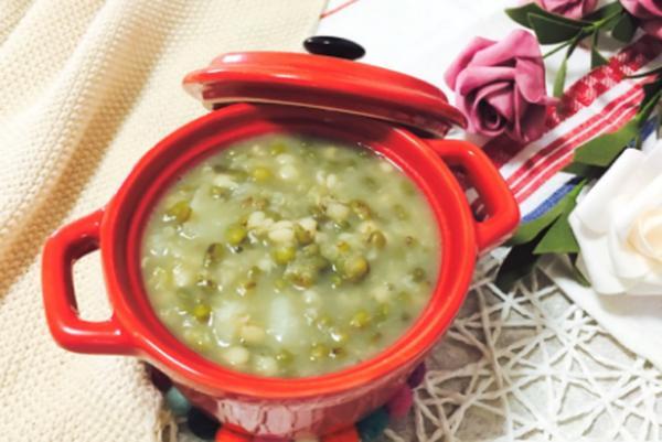 薏米淮山绿豆粥有什么功效