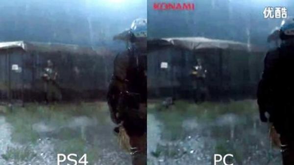 速围观!《合金装备5:原爆点》PC/PS4版截图对比