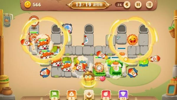 保卫萝卜3蘑菇在辅助类炮塔中的地位 保卫萝卜3蘑菇在辅助类炮塔怎么样
