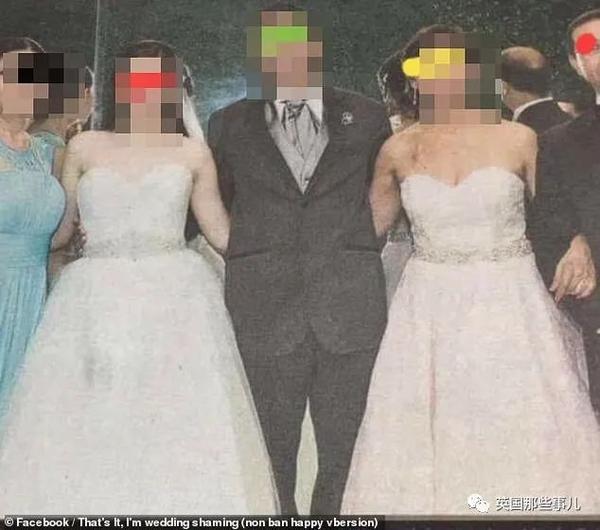 """另类奇葩婚礼:小伙穿婚纱""""嫁""""女友"""