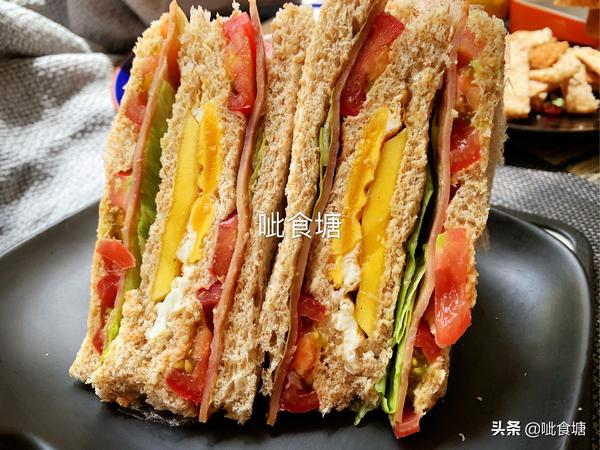 简单三明治的做法