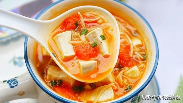 番茄豆腐汤简易制作方法