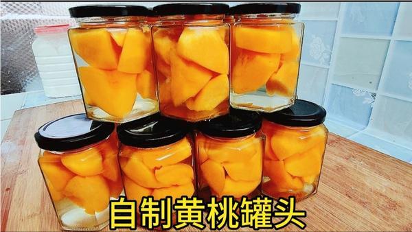 桃汁和什么一起榨汁,做黄桃罐头为什么要用盐水泡