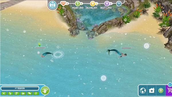 模拟人生3岛屿天堂怎么创建人鱼 模拟人生3不能创建人鱼