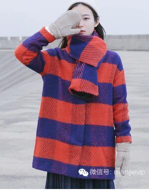 长款格子大衣搭配图片介绍 两种造型打造优雅气质