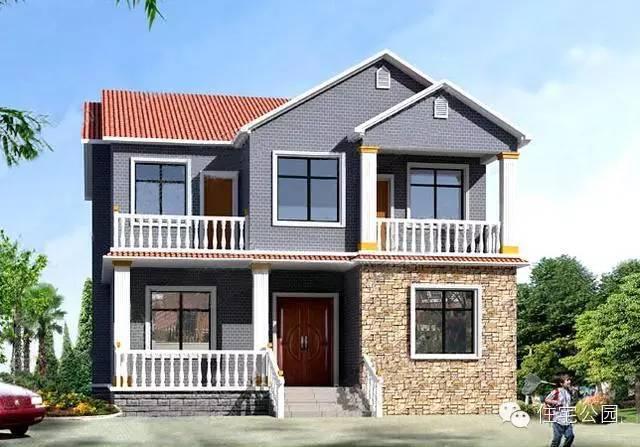 10套新农村自建房别墅设计图 收了过节回老家去盖