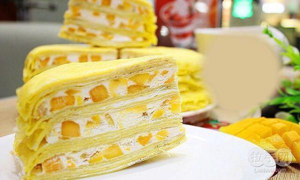 芒果千層蛋糕~超詳細步驟