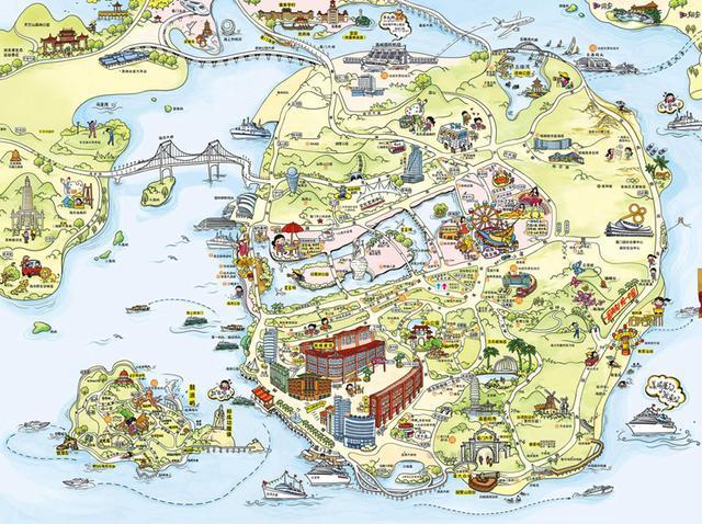 厦门市地图全图高清版