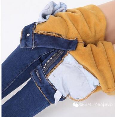时尚经典弹力紧身牛仔小脚铅笔裤,优雅迷人身姿!