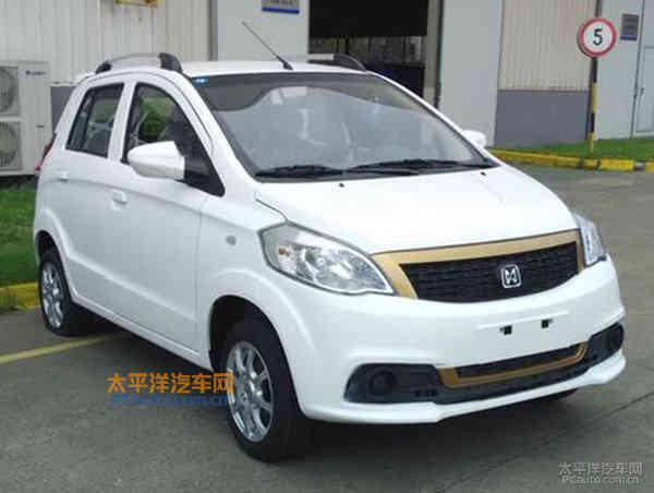 江铃E100电动车申报图 最高时速100km/h