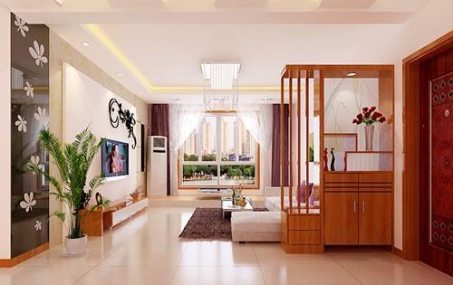 最新12款客厅玄关效果图片 现代简约设计图欣赏