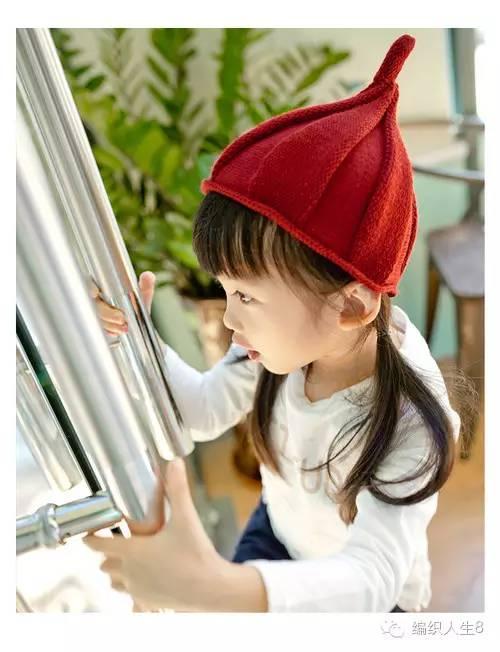 一款萌萌的奶嘴帽