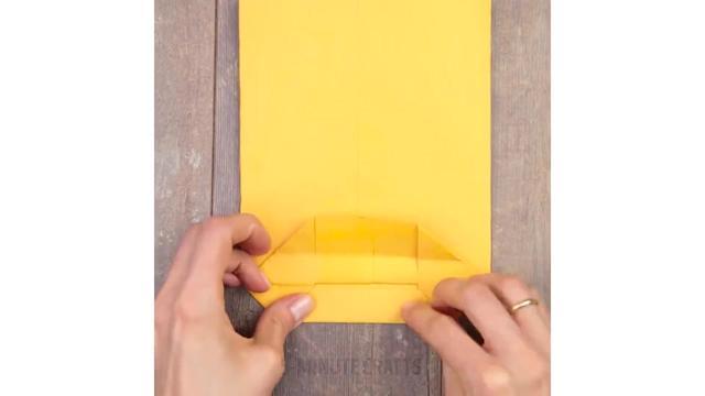 一分钟用A4纸折成小纸袋,那些简单实用的礼物包装技巧