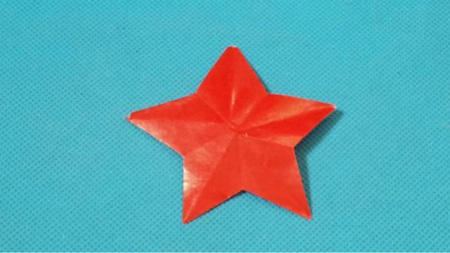 幼儿剪纸教程:两种五角星(五角折剪)-剪纸教程,手工制作网