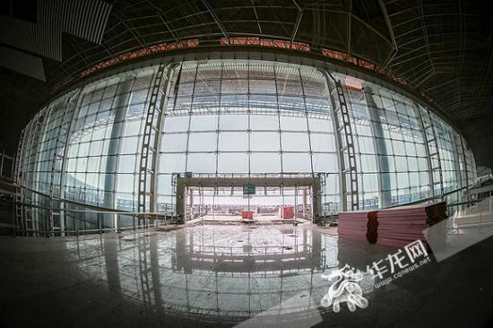 江北机场t3b航站楼
