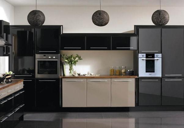 厨房安装烤箱图片