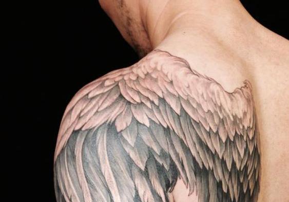 翅膀纹身-翅膀纹身图案大全图片-纹身翅膀手稿-纹身... - 66纹身