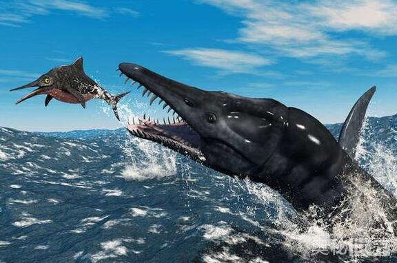 滑齿龙肉食性海生爬行动物,盘点上龙目的恐怖