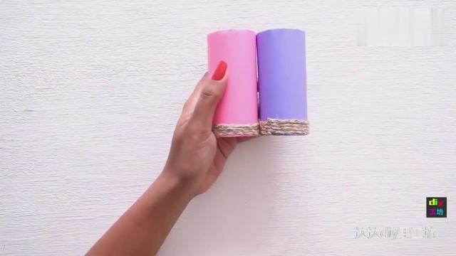 卷纸筒能做什么手工