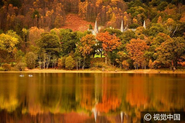 秋天风景图片大全大图,唯美的秋天风景图片