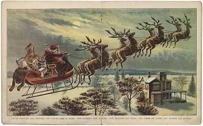圣诞老人的坐骑到底是什么鹿?