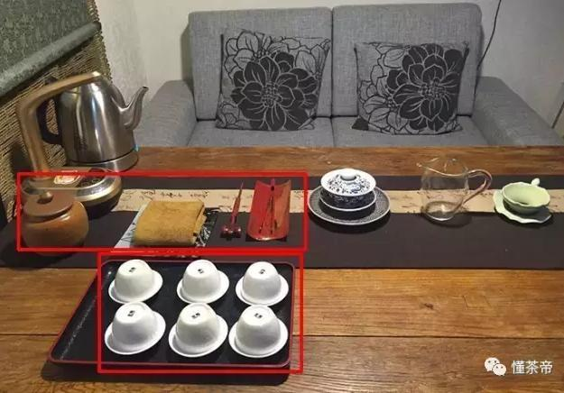 茶具摆放位置图片欣赏