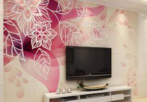 电视背景墙的图片选树和树叶好不好