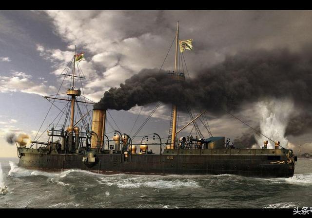 """甲午海战时""""福龙""""号三次攻击都没击中日本海军军令... _腾讯网"""