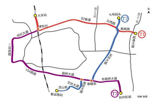 台州首条有轨电车正式开工!将于2019年通车