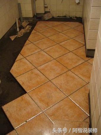 客厅地板砖斜铺效果图 _一起装修网百科