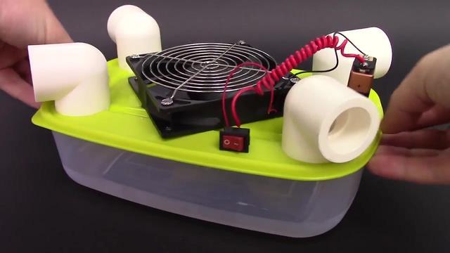 如何制作一台简易制冷空调,原理制作都很简单