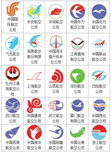 航空公司标志大全 航空公司LOGO欣赏
