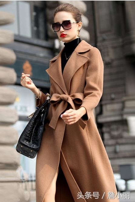 大品牌质量就是这么硬,女式羊毛羊绒双面呢大衣换季怎能错过