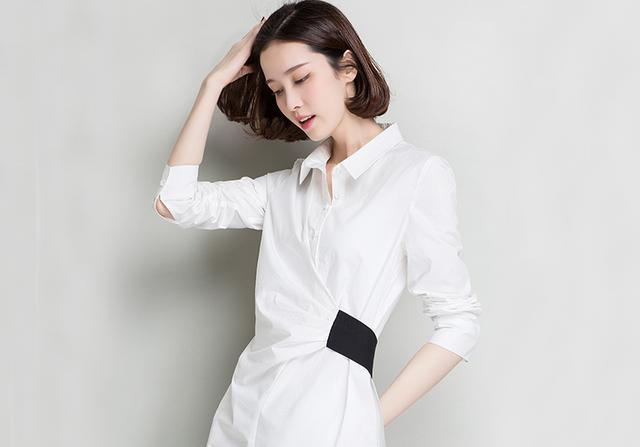 kama衬衫裙图片