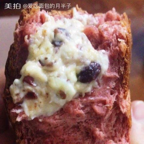 【步骤图】无油无糖红丝绒全麦乳酪面包的做法_无油无... _下厨房