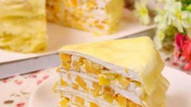 千層蛋糕的家常做法,好吃