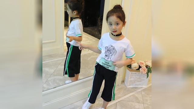 汉服女童洋气套装裙姐妹装夏季唐装中国风女孩公主裙超仙网红同款