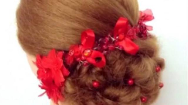 22款中式新娘发型图片精选,搭配精美发饰尽显东方古典美