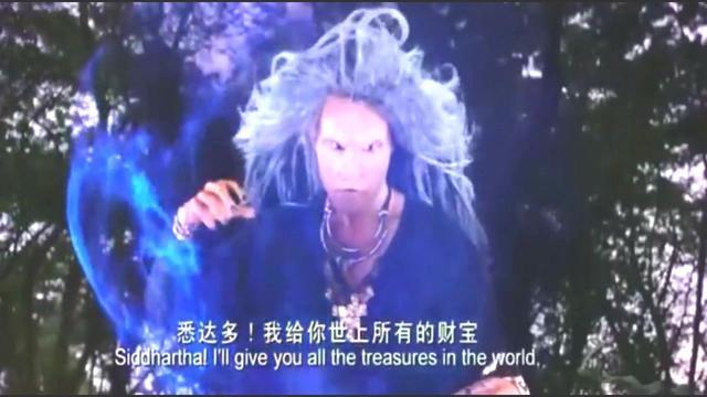 巨蟒前来为如来佛祖护法, 释迦牟尼菩提树下立地成佛,