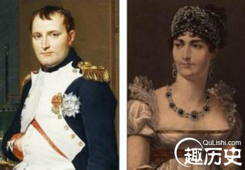 拿破仑和约瑟芬画像