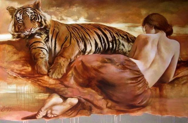 法国艺术家Yarek Godfrey人体绘画作品欣赏
