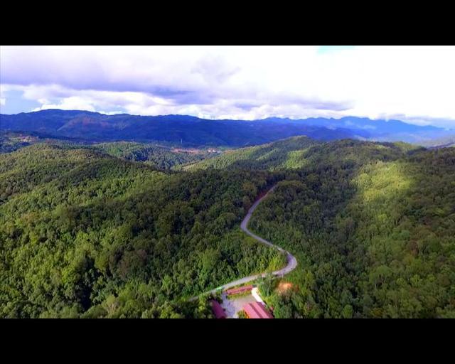 航拍:美丽的云南普洱太阳河国家公园