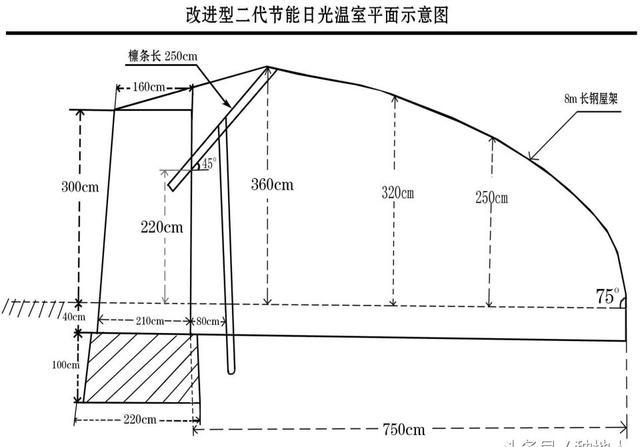 日光温室大棚设计图-工农业建筑图纸-沐风网