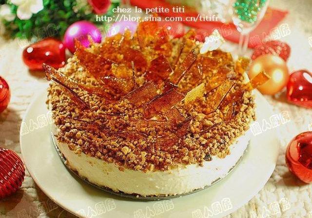 懶人不懶,香蕉焦糖芝士蛋糕佐太妃糖醬,64圖詳解法式芝士蛋糕