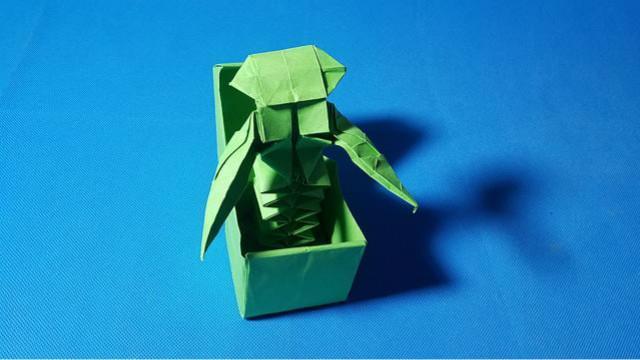 教你手工折纸小天鹅,简单易学,儿童很喜欢